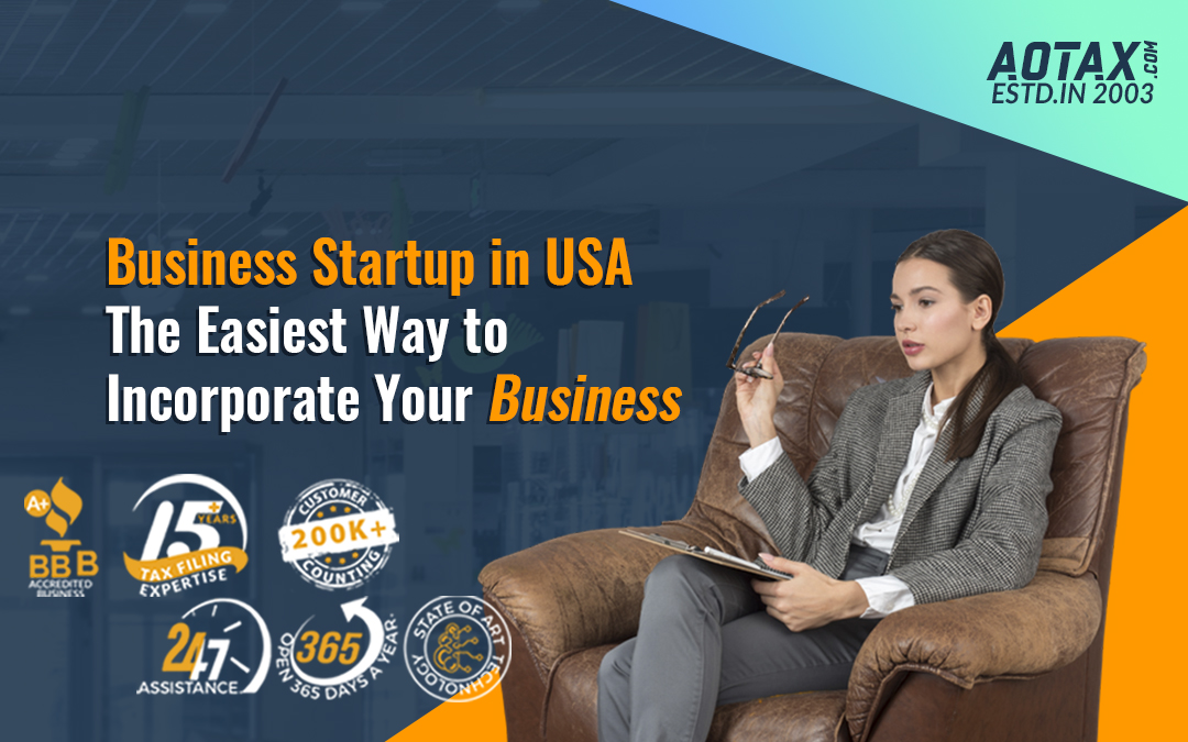 Business Startup in USA – The Easiest Way to Incorporate Your Business