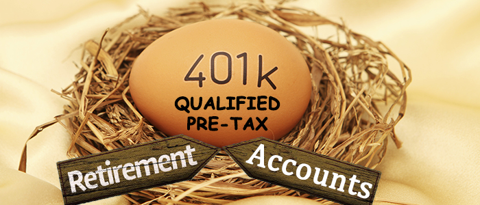 401(K) Other Qualified Pre-Tax Retirement Accounts