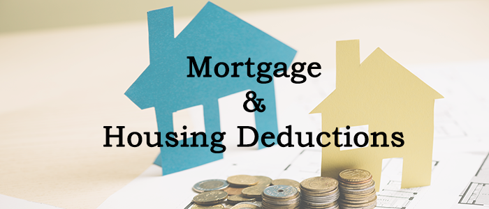Mortgage & Housing Deductions