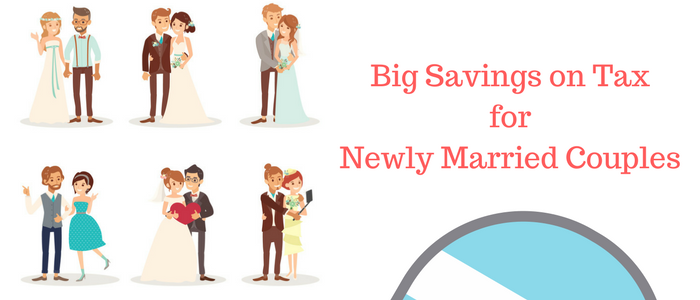 Big Savings on Tax for Newly Married Couples