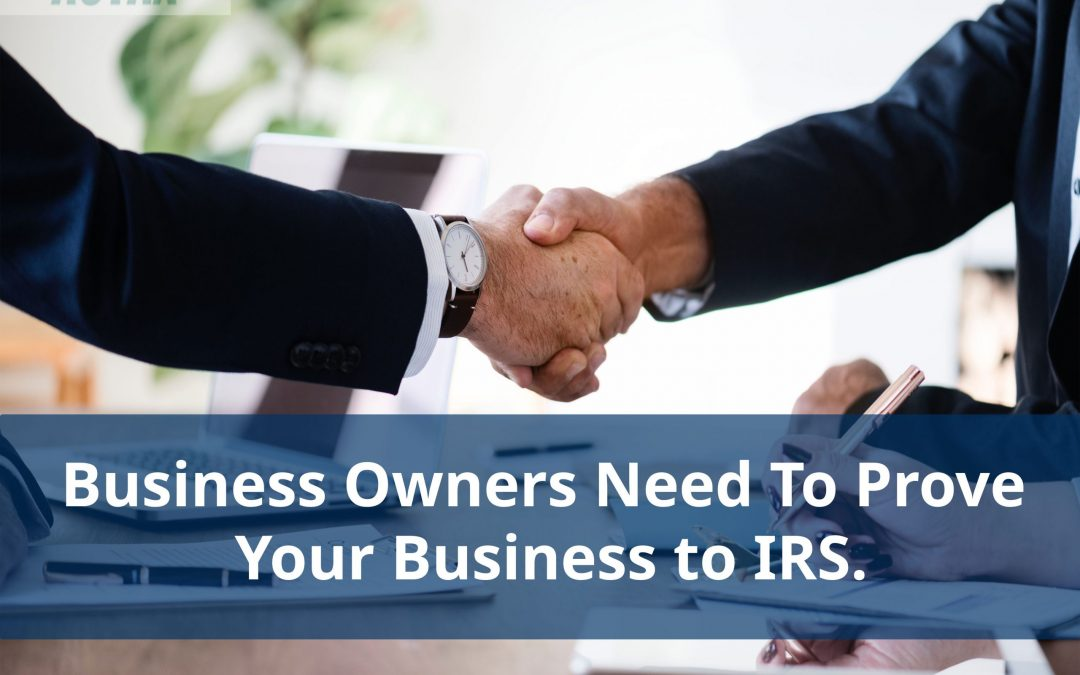 Business Owners Need To Prove Your Business to IRS.