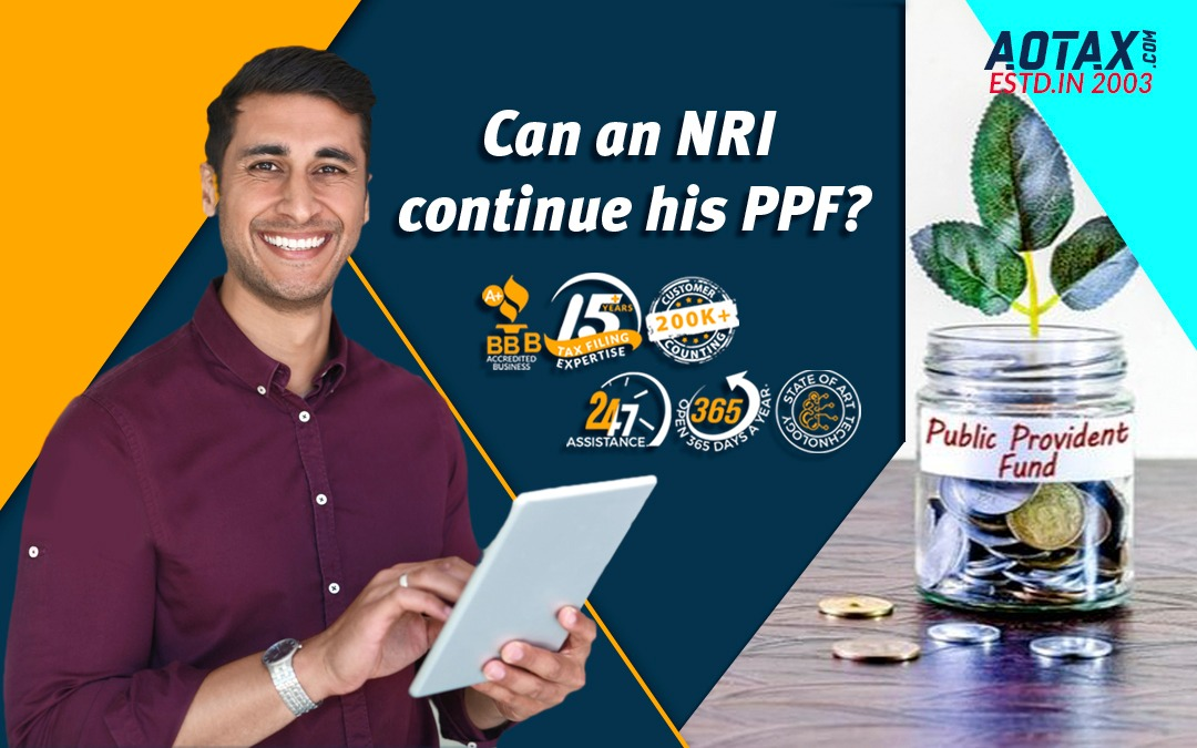 Can an NRI continue his PPF?