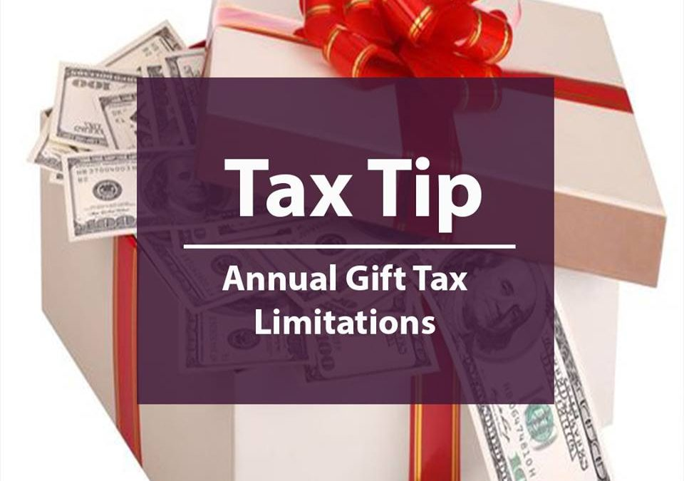 Annual Gift Tax Limitations