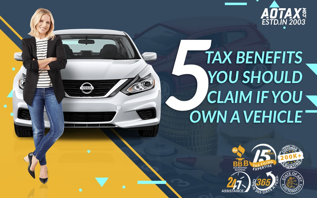 5 Tax Benefits you should claim if you OWN A VEHICLE