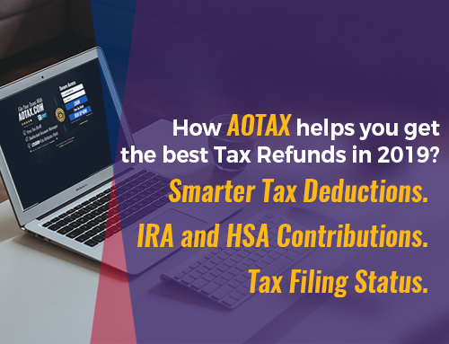 How AOTAX helps you get the best Tax Refunds in 2019?