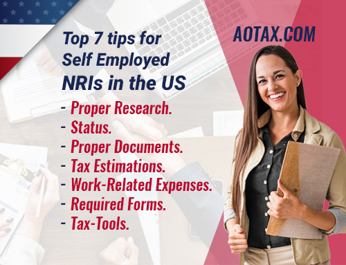 Top 7 tips for Self Employed NRIs in the US