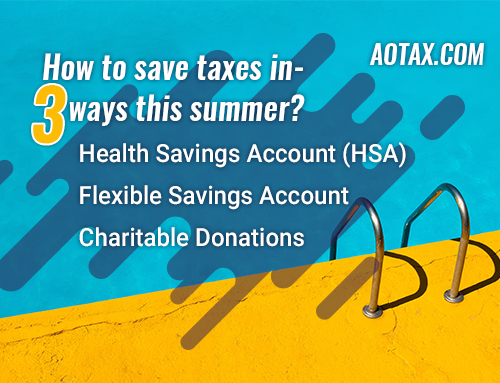 How to save taxes in 3 ways this summer?