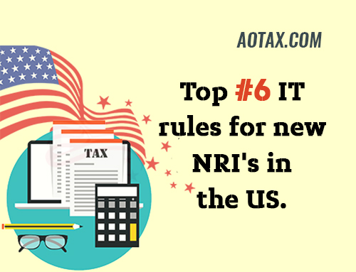 Top #6 IT rules for new NRI's in the US