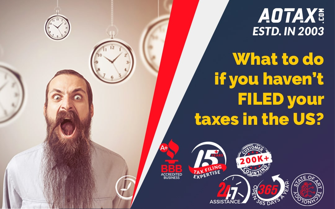 What to do if you haven't filed your taxes in the US?