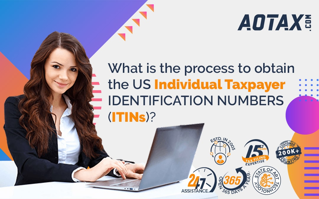 What is the process to obtain the US Individual Taxpayer Identification Numbers (ITINs)?