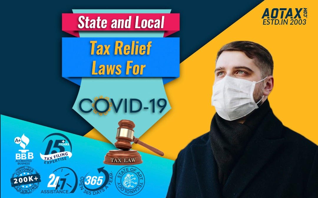 State and Local Tax relief laws for COVID-19