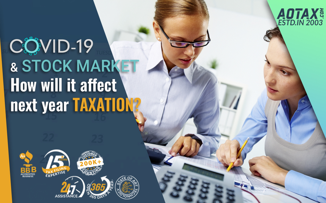 COVID-19 and Stock Market How will it affect next year taxation