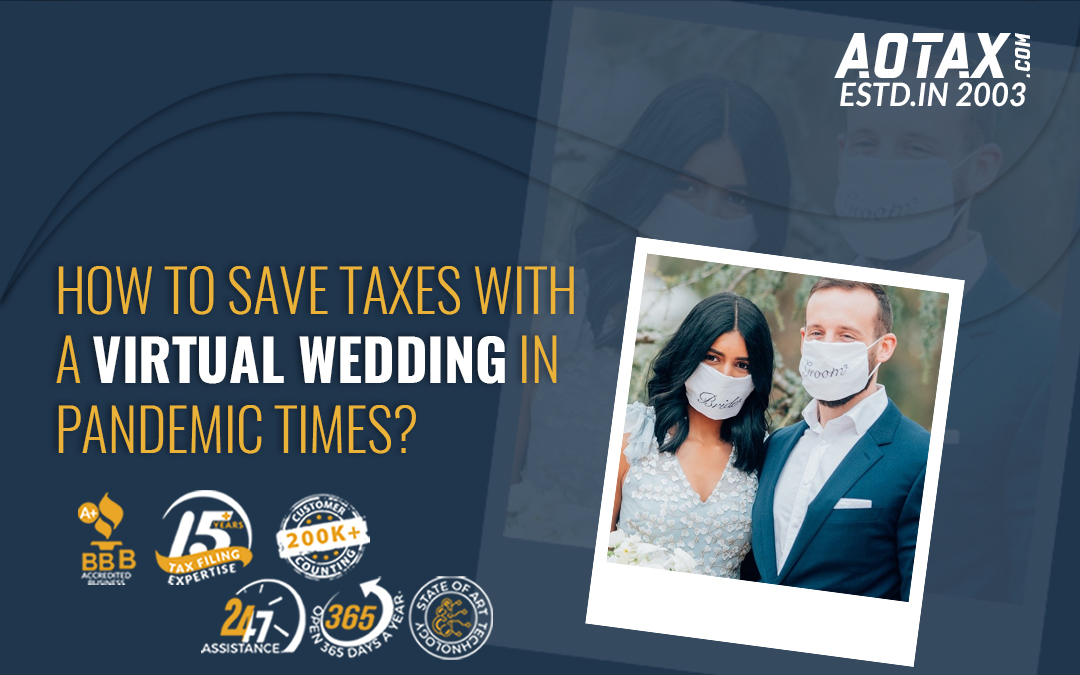 How to save taxes with a Virtual Wedding in pandemic times?