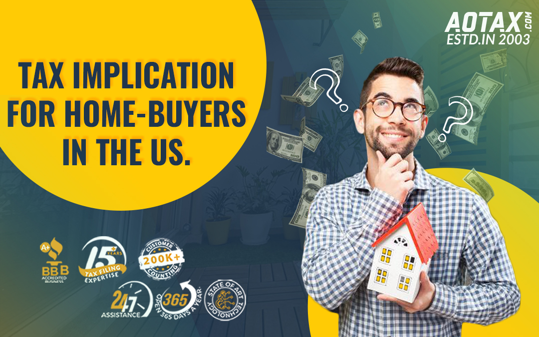 Tax implication for home-buyers in the US