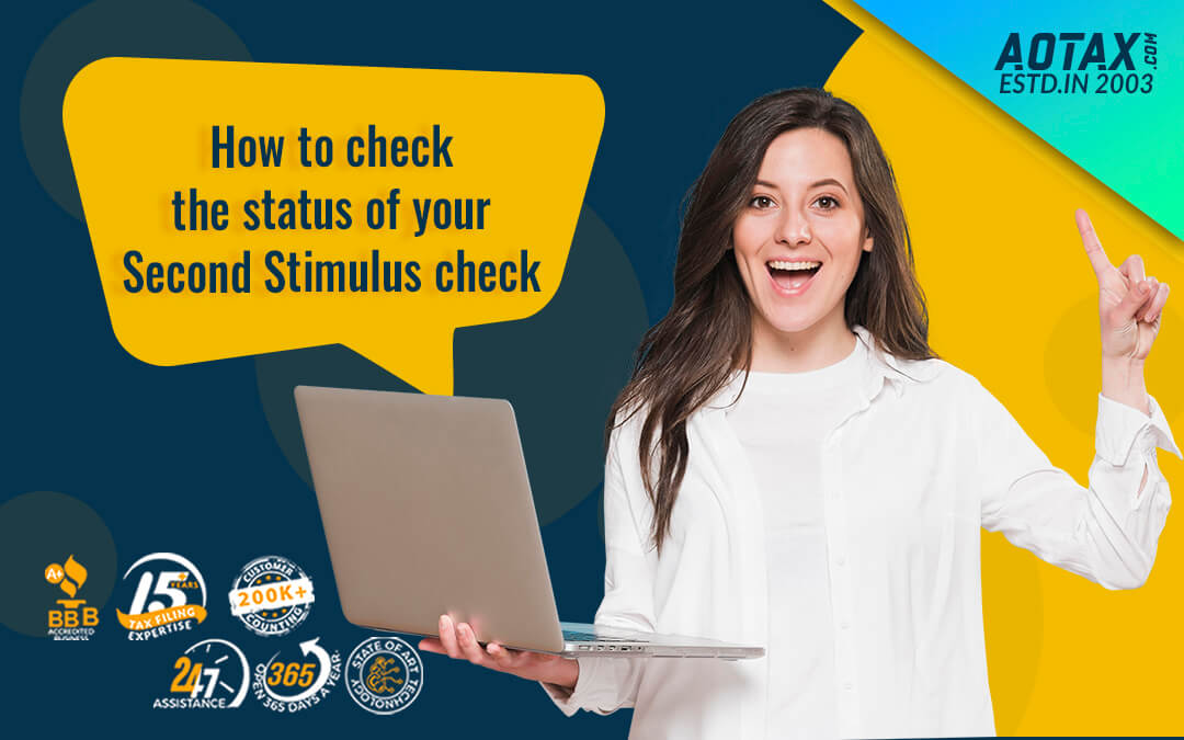 How to check the status of your Second Stimulus check