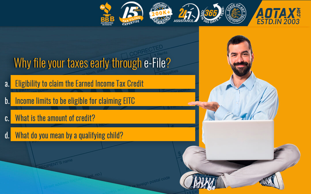 Why file your taxes early through e-File?